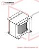Heater Transformer 230v - T6-6-10390