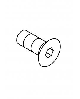 FHS0410N FHS, M4x10 (N)