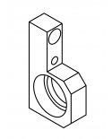 H45-40011 Bearing Support