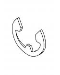 ER08 Snap Ring, E-8