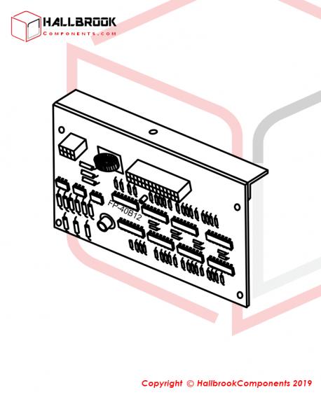 EXT PC-FP-40B12 CONTROL PC BOARD ASSE. FP-40B12
