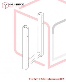 Angle iron legs tube1
