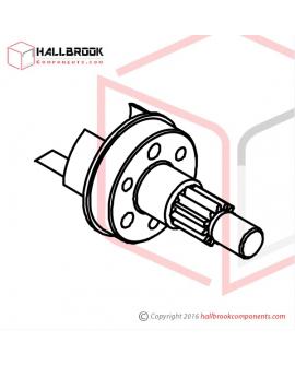 H45-10140 Tensioning Wheel Shaft