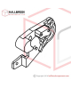 H45-10210 M1 Motor Support