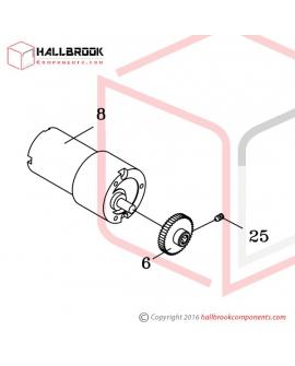 H45-20120 M2 Motor Ass'y