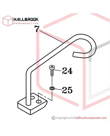 H45-50080 Stiff Suspension Bracket Set (Option)