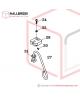 H45-50150 Turnable Suspension Bracket Set (Option)