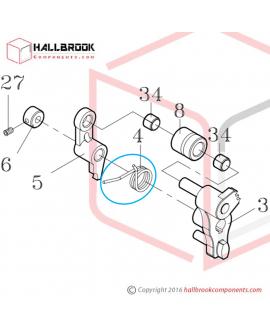 H45-30040 Torsion Spring