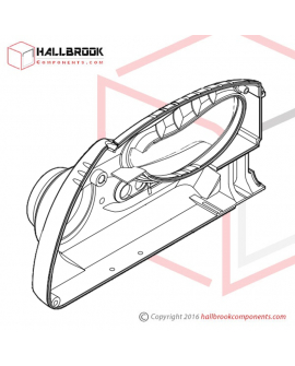 H45-50030 Cover Rear