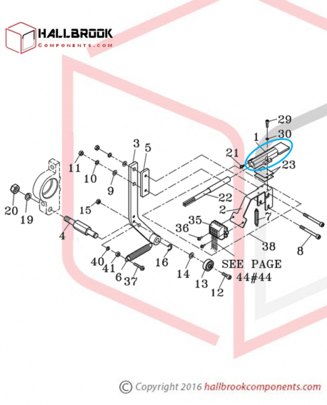 T5-1-12280 Heater Tongue (For Small Package)