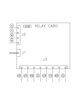 EXT 75824802 Relay PCB for Extend EXP-408 pallet wrapper