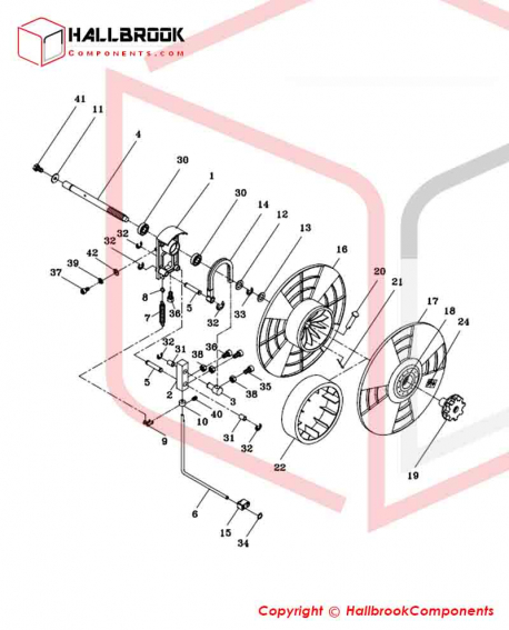 T6-4-20000 Reel Control Group