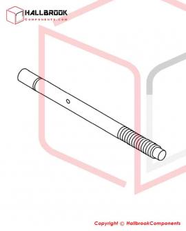T6-4-20150S Reel Shaft (Stainless Steel Model)