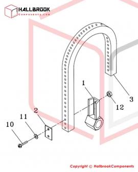 T6-4-21000 Brake Belt Ass'y