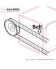 T2-1-20010 Belt