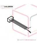 T5-4-10542 Wire Ass'y X4 (For Heater/Fan)