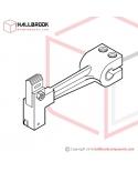 T6-1-31000S RH, Block Arm Ass'y (Stainless Steel Model)