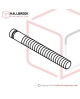 T6-1-42120 Heater Bearing Shaft