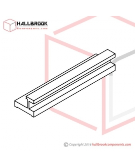 T6-1-40130 Heater Slider Guide (L)