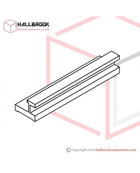 T6-1-40130 Heater Slider Guide (L)