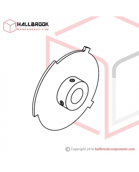 T6-1-10131 Limit Switch Cam (LS2)
