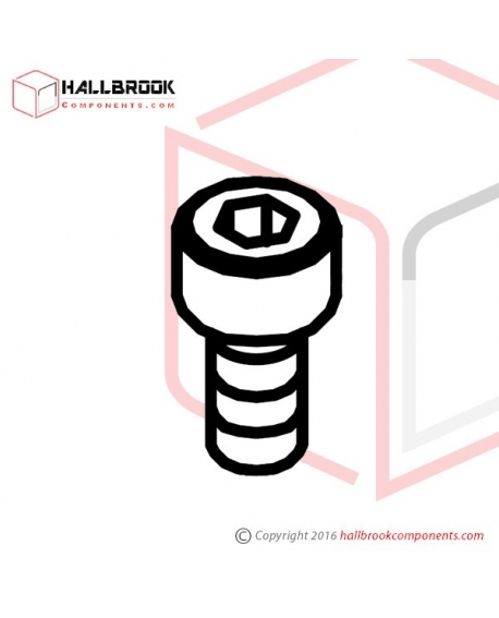 HBS0408S HBS, M4x8 (Stainless Steel Model)