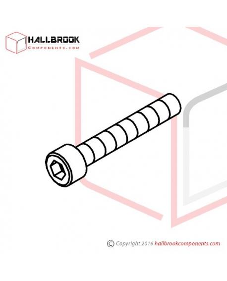 HBS0640N HBS, M6x40 (N)