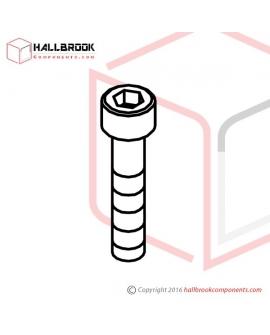 HBS0430H HBS, M4x30 (H)