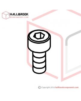 HBS0508N HBS, M5x8 (N)