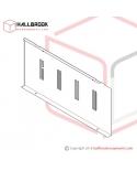 T6-3-20130 Accumulator Box Front, LH