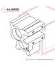 T6-3-11110 Accumulator Bearing Case