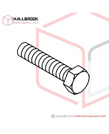 T6-3-10130S Accumulator Adjusting Bolt (Stainless Steel Model)