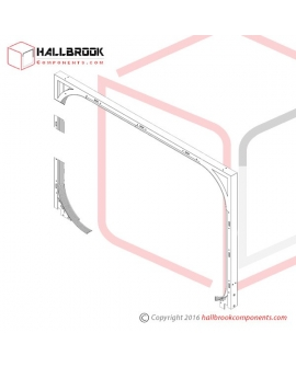 T6-2-20110 Arch Frame (For 850W x 600H)