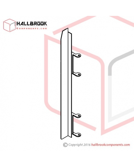T6-2-20160S RH Side Guide Rail (Stainless Steel Model)