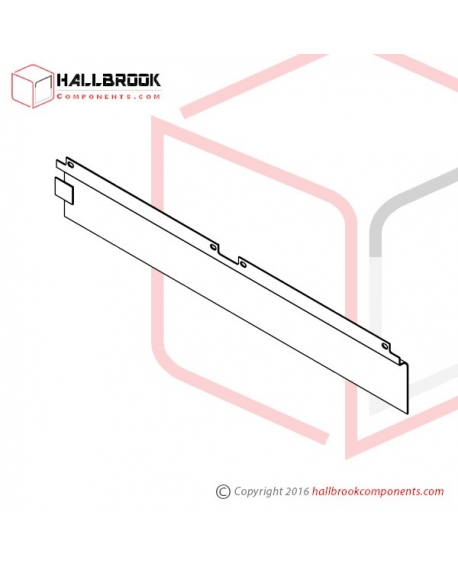 T6-2-20340 Back Guide Plate, Upper (For 850W)