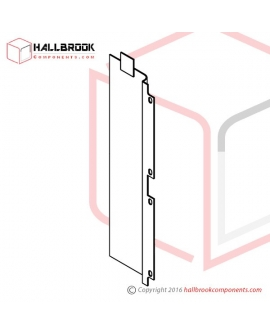 T6-2-21359 Back Guide Plate, Side (For 400H)