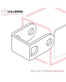 T6-4-22110S Free Slide Roller Bracket (Stainless Steel Model)