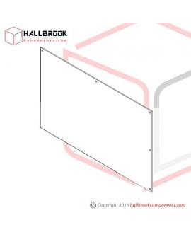 T6-5-10190S Rear Plate (Stainless Steel Model)