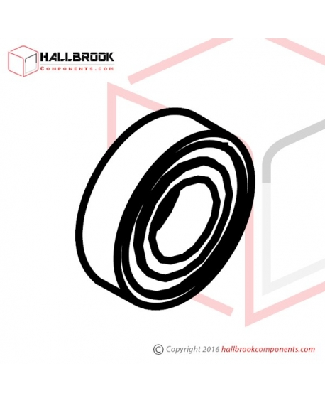 BR6982RS Bearing, 698 2RS