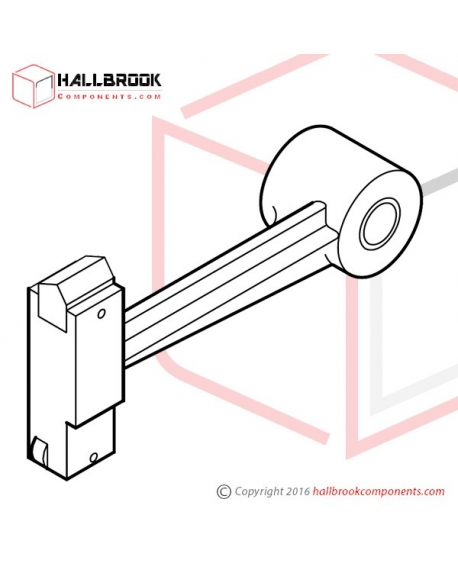 MV-1-33001 LH, Block Arm Ass'y