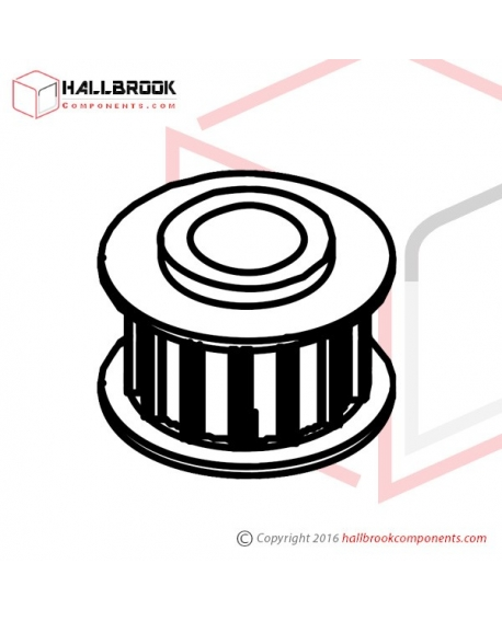 MV-1-41050 Timing Pulley (M4)