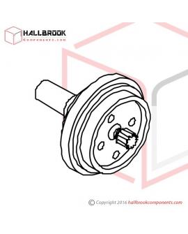 MV-1-61090 Tension Roller Shaft