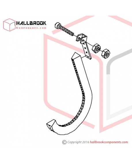 MV-4-10100 Brake Belt Ass'y