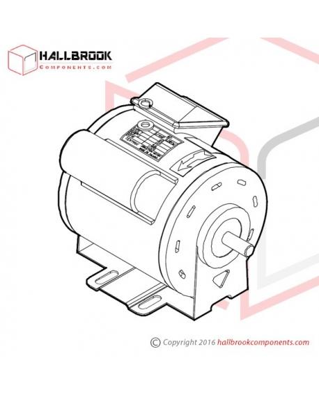 MV-6-10047 M1 Motor (MV) (400W, For 110V/60HZ)