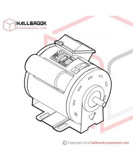 MV-6-10048 M1 Motor (MV) (400W, For 240V/50HZ)