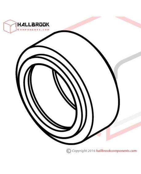 T6-1-71122S Upper Feed Roller (For 15.5mm) (Stainless Steel Model)