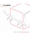 T6-2-12125 LH Bandway Flap (For 1650W, 12mm/15.5mm)
