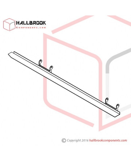 T6-2-20157S Upper Guide Rail (Stainless Steel Model)