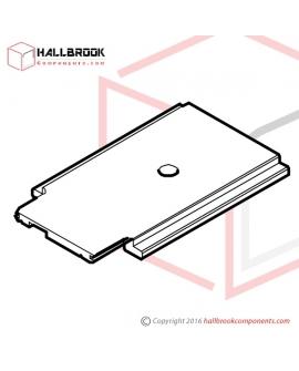 T7-1-10250S Slide Plate (Stainless Steel Model)